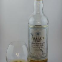 Amrut Two Continents with glass