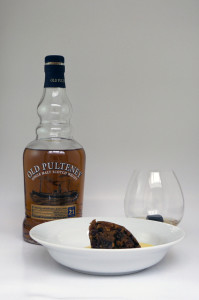 Old Pulteney 21 whisky for Christmas lunch