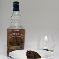 Christmas Lunch whisky pairing Old Pulteney 21 yo