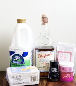 whisky cupcakes ingredients