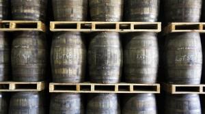 James Sedgewick Three Ships whisky distillery barrels
