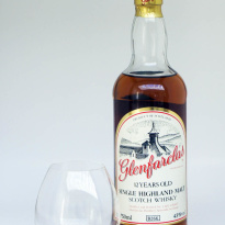 Glenfarclas 12 yo whisky older bottling