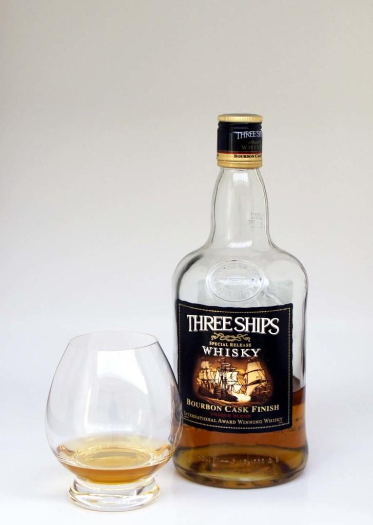 Three Ships Bourbon Finish blended whisky