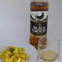 Black Grouse whisky paired with Indian Food