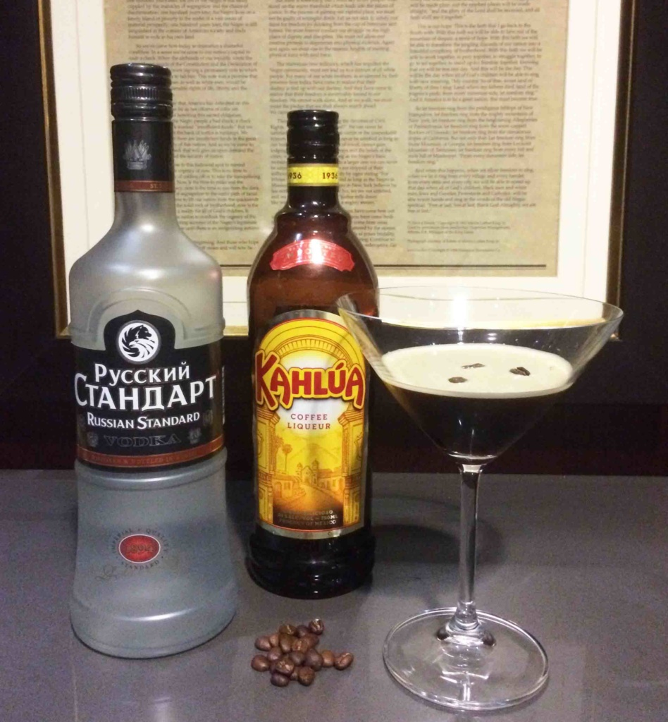 Summer cocktails - Espresso martini