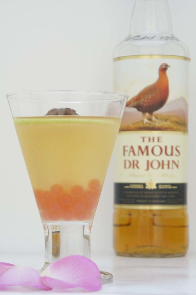 Valentine's Day cocktail - Famous Grouse blended whisky