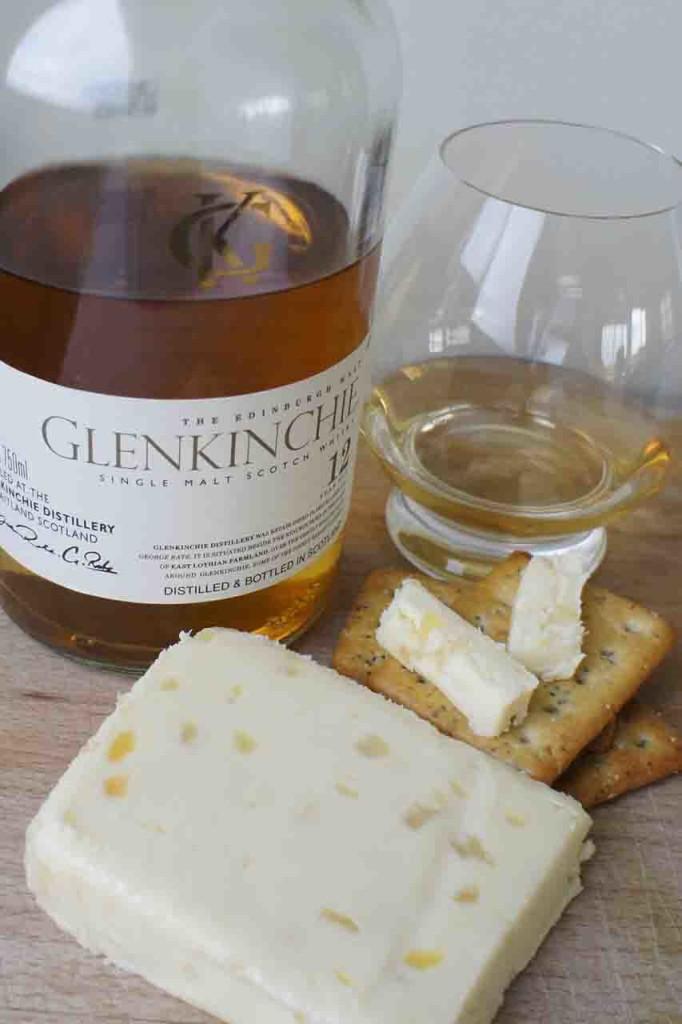 Glenkinchie 12 yo and Wensleydale cheese pairing