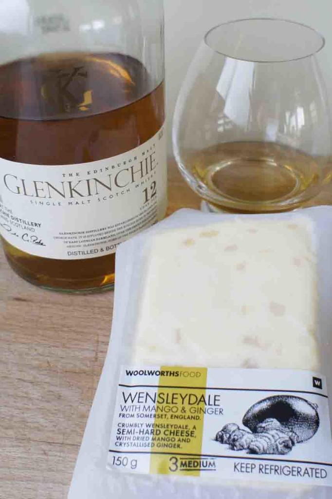 glenkinchie wesleydale cheese pairing