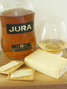 Jura Origin whisky and Comté Cheese pairing