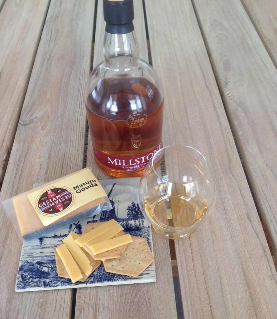 Millstone French Oak & Mature Gouda Pairing