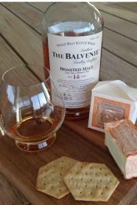 Balvenie Toasted Malt and Brebirousse d'Argental cheese pairing