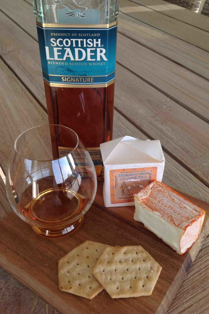 Scottish Leader signature and Brebirousse d'Argental cheese pairing
