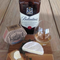 Whisky and Camembert Cheese pairing Ballantine's Finest
