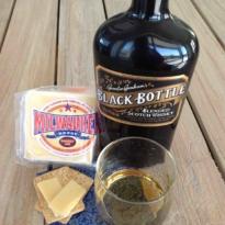 Whisky and Milwaukee Smokey Joe Cheese pairing Black Bottle