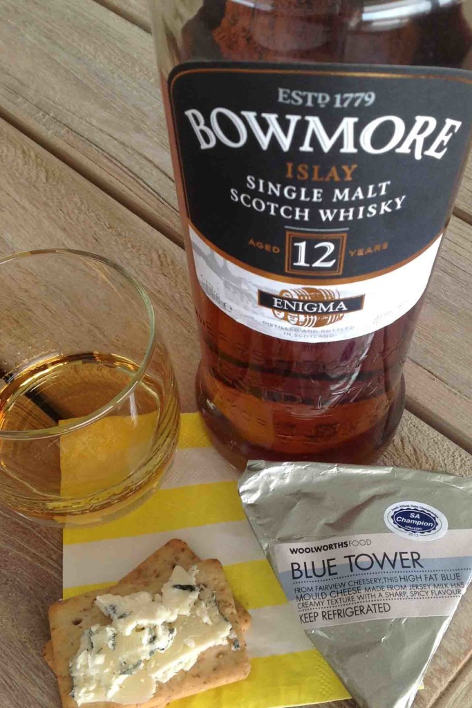 blue tower cheese bowmore enigma whisky cheese pairing