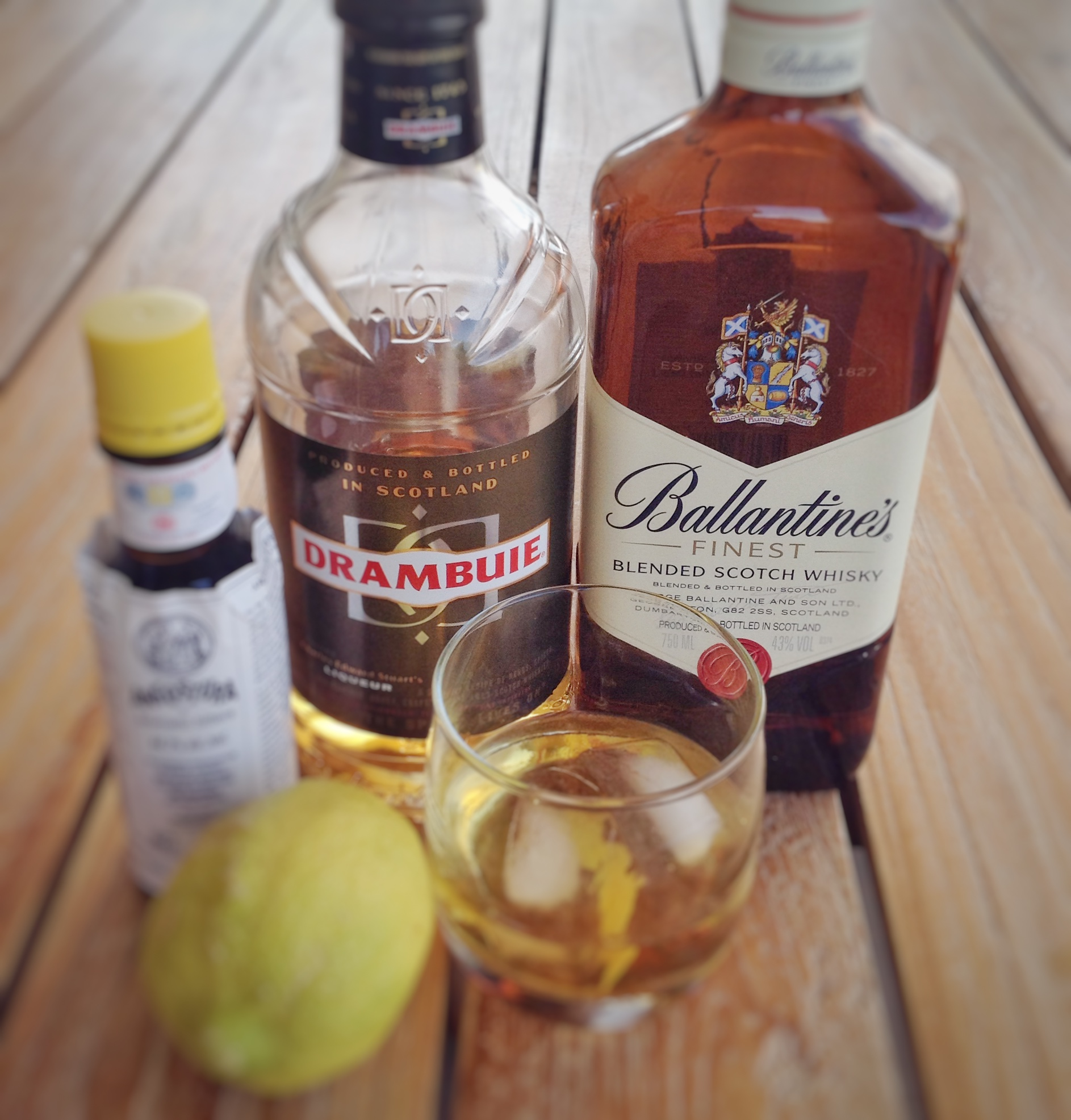 how to make a rusty nail cocktail