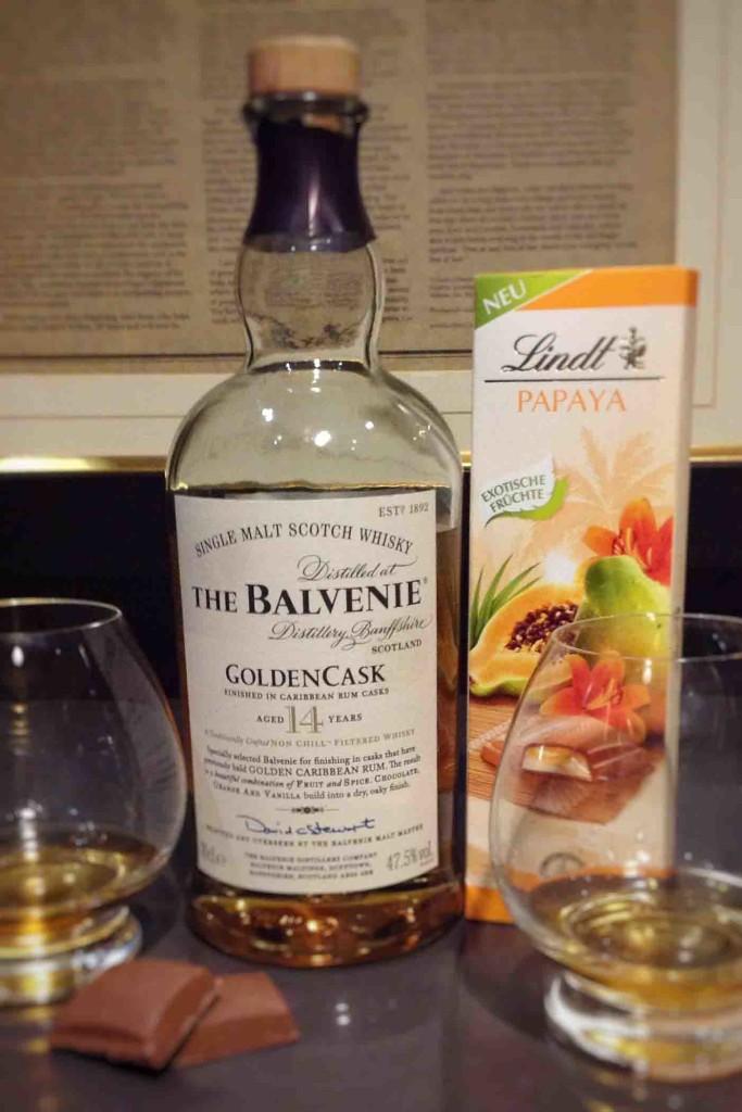 whisky chocolate pairings Balvenie NYE 2016
