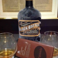 Whisky and Chocolate Pairing Black Bottle