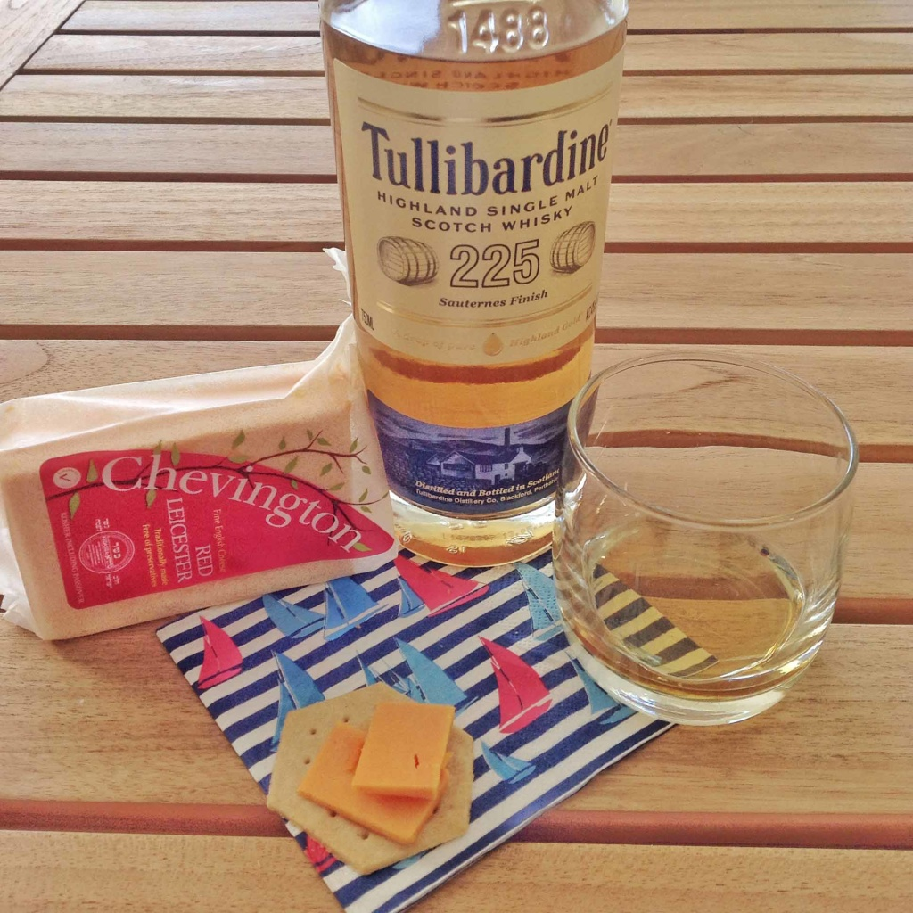 Red leicester and cheese pairing Tullibardine Sauternes