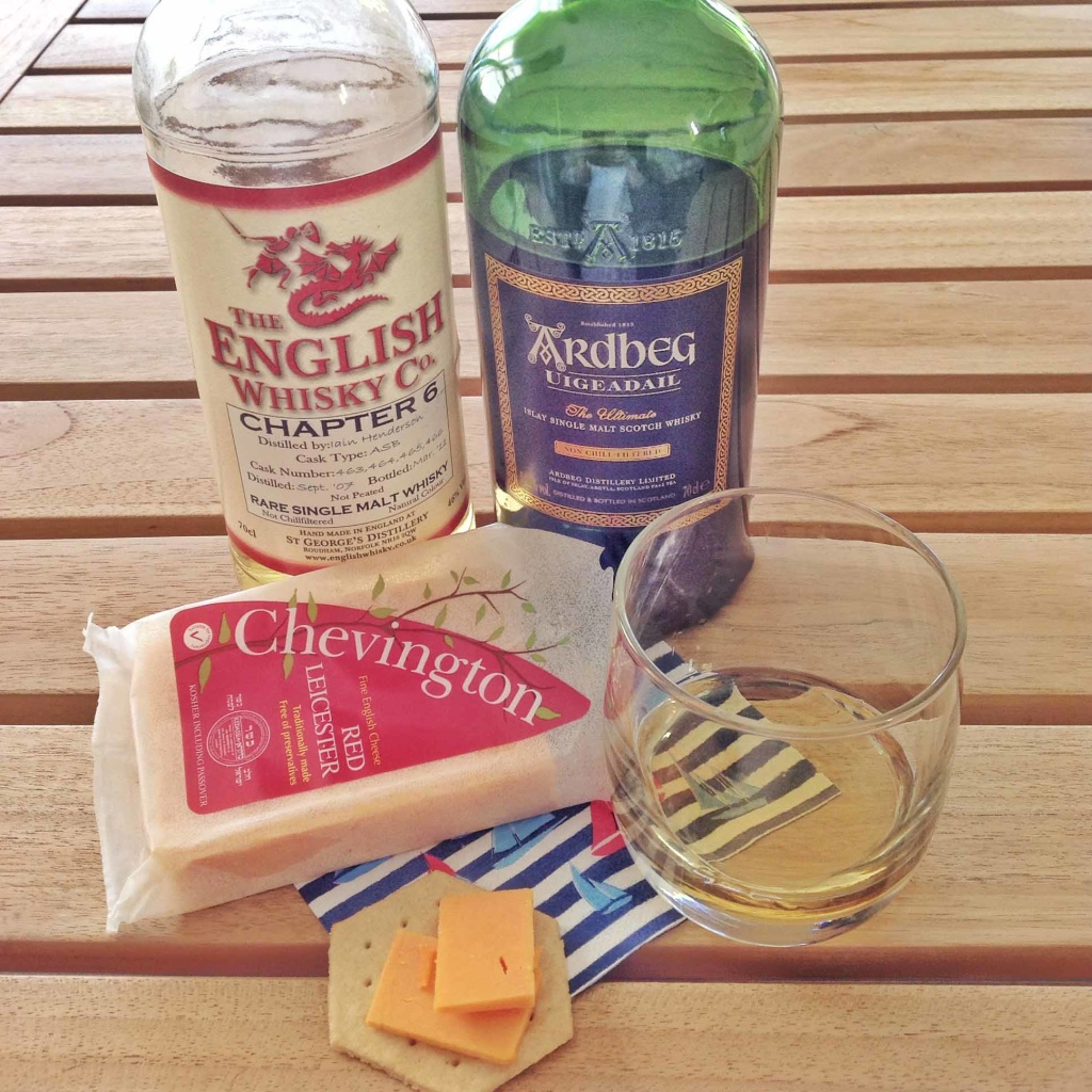 Red Leicester and cheese pairing Uigeadail English whisky Co