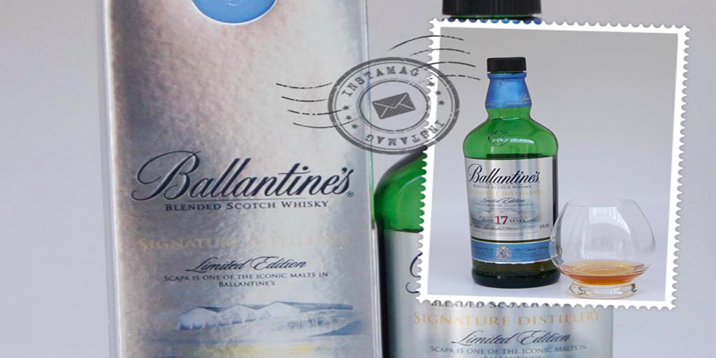 Ballantines Scapa Signature Edition blended whisky