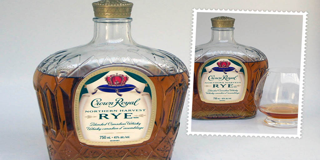 Crown Royal Northern Harvest Rye canadian whisky