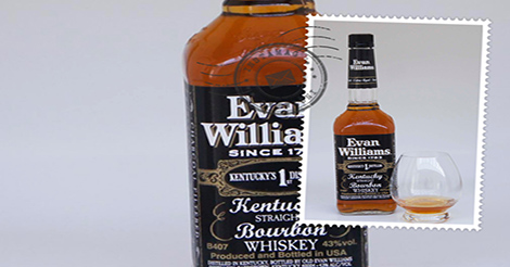 Evan Williams Kentucky bourbon whiskey