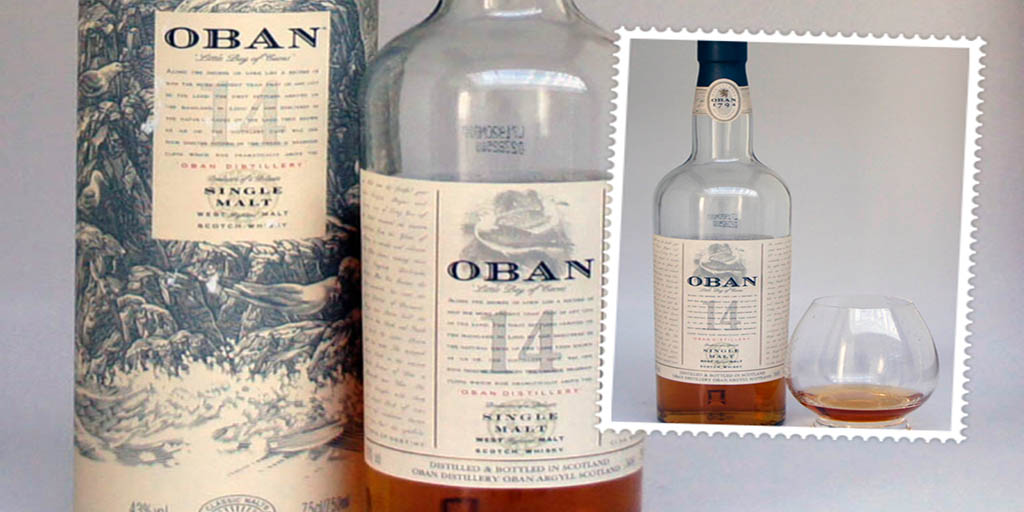 Oban 14 yo single malt Whisky