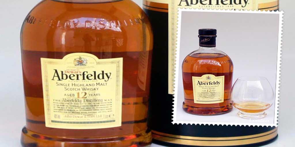 Aberfeldy 12 yo single malt whisky