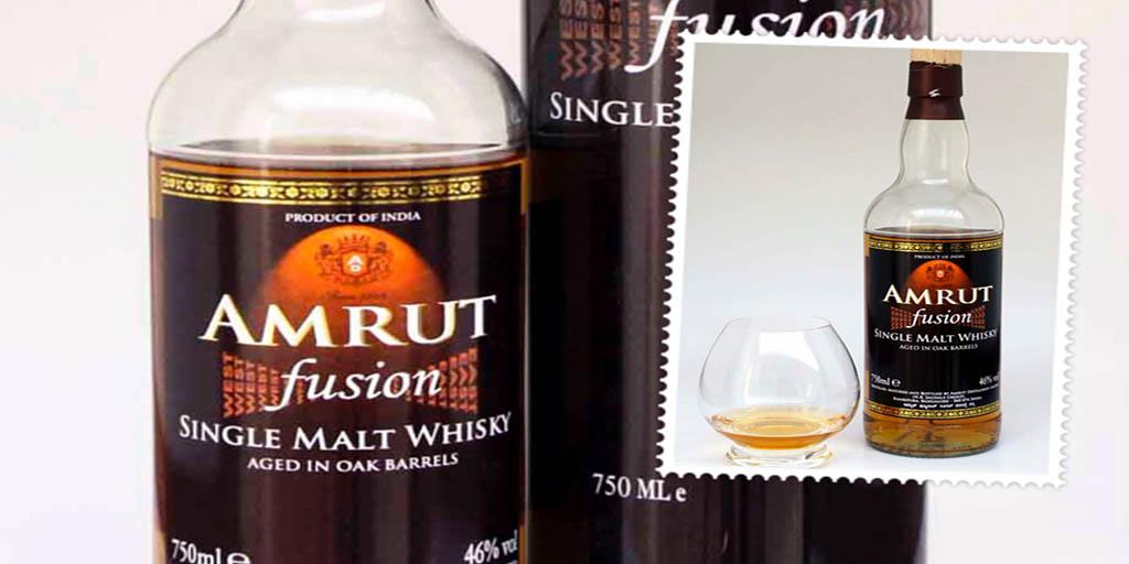 Amrut Fusion single malt indian whisky