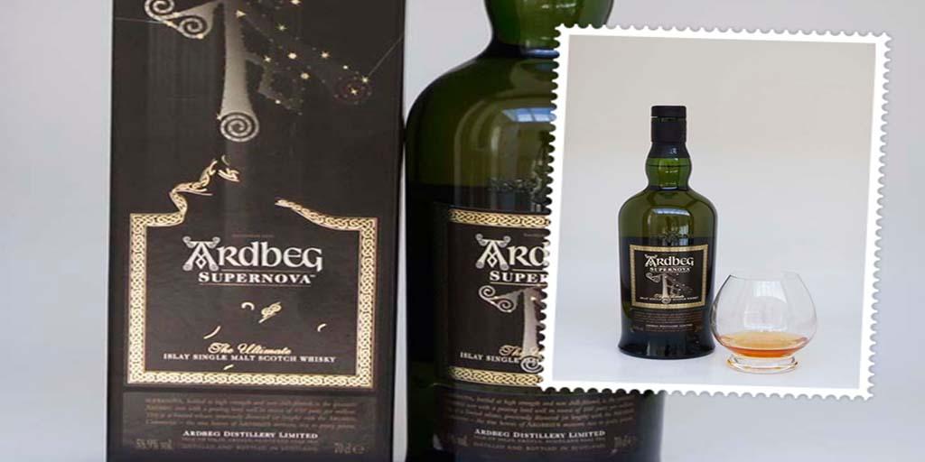 Ardbeg Supernova single malt whisky