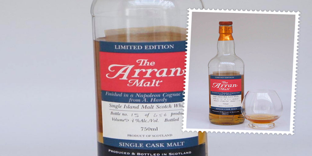 arran napoleon cognac Cask single malt whisky