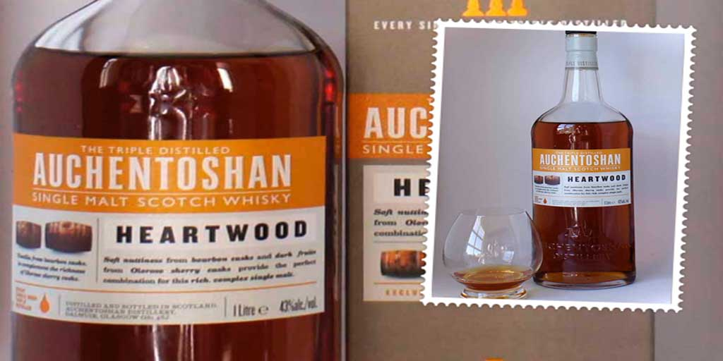 Auchentoshan Heartwood single malt whisky