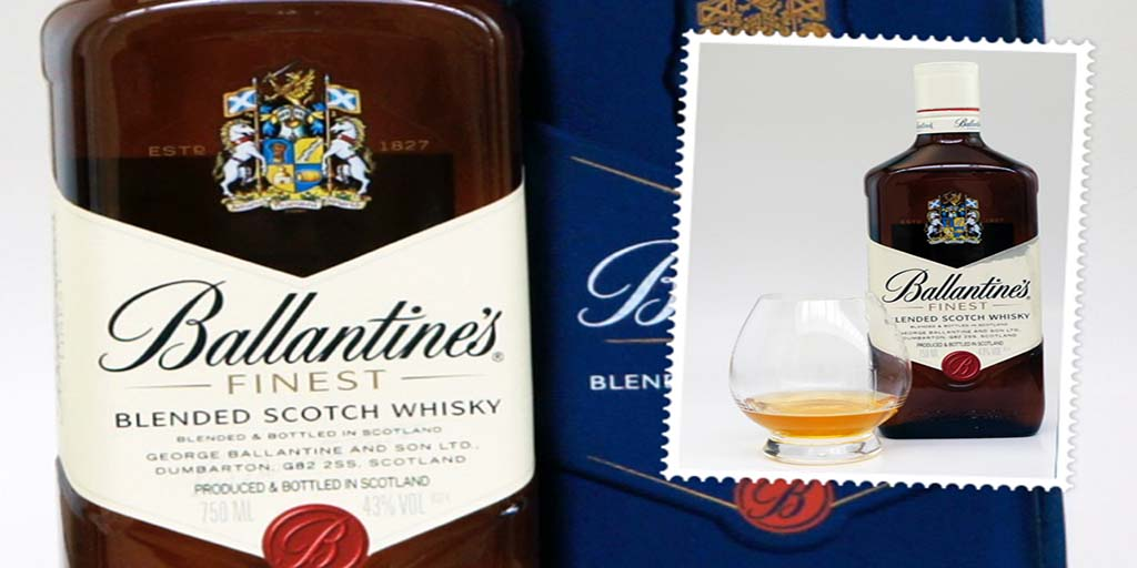 ballantine's finest blended whisky ballantine's finest