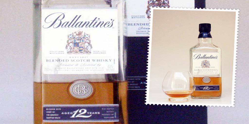 Ballantines 12 yo blended whisky