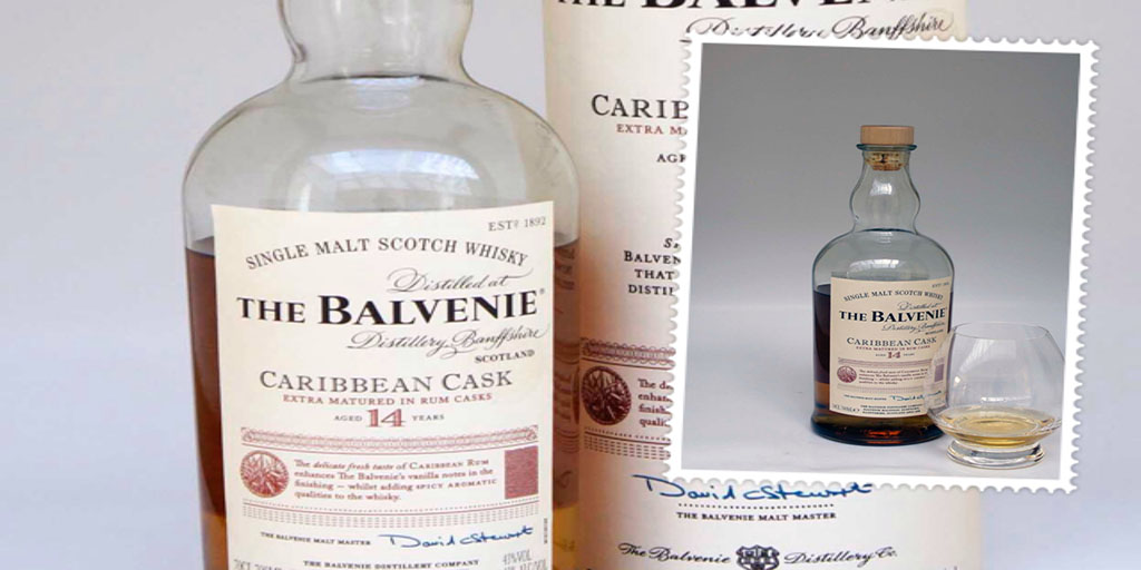 Balvenie Caribbean Cask 14 yo single malt whisky