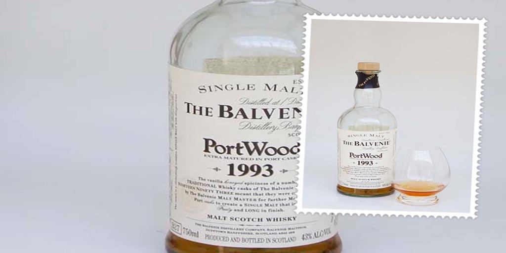 Balvenie Portwood 1993 single malt whisky