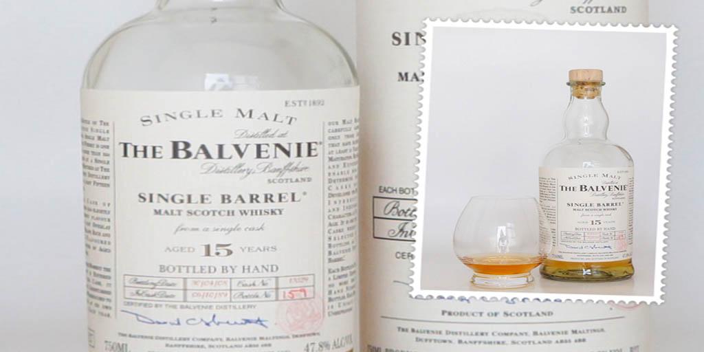 Balvenie Single Barrel 15 yo whisky