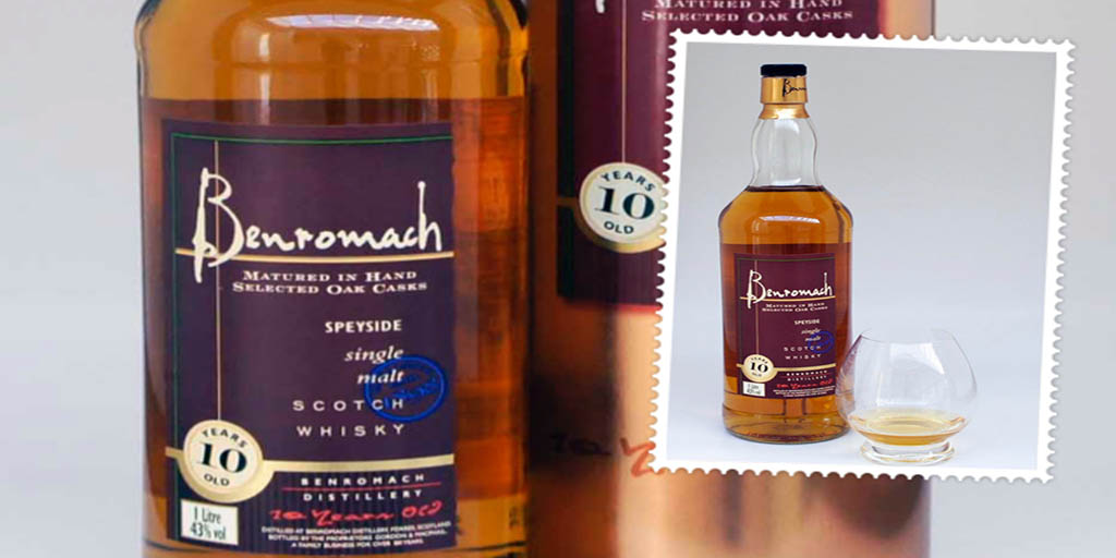 Benromach 10 yo single malt whisky