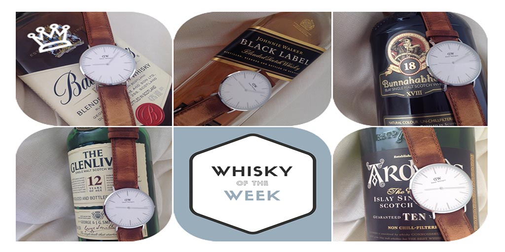 Daniel Wellington Watch and Classic whisky