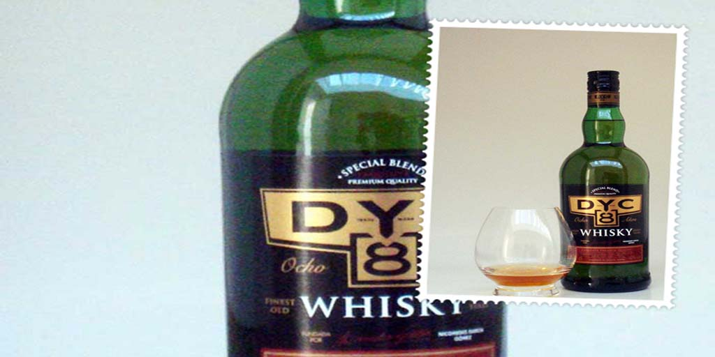 DYC 8 yo blended whisky from Spain