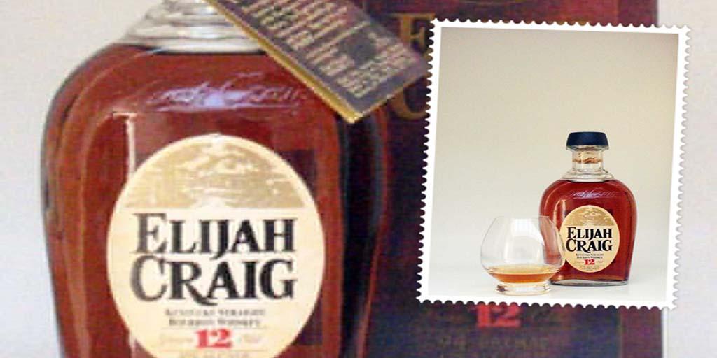 Elijah Craig 12 yo bourbon whiskey