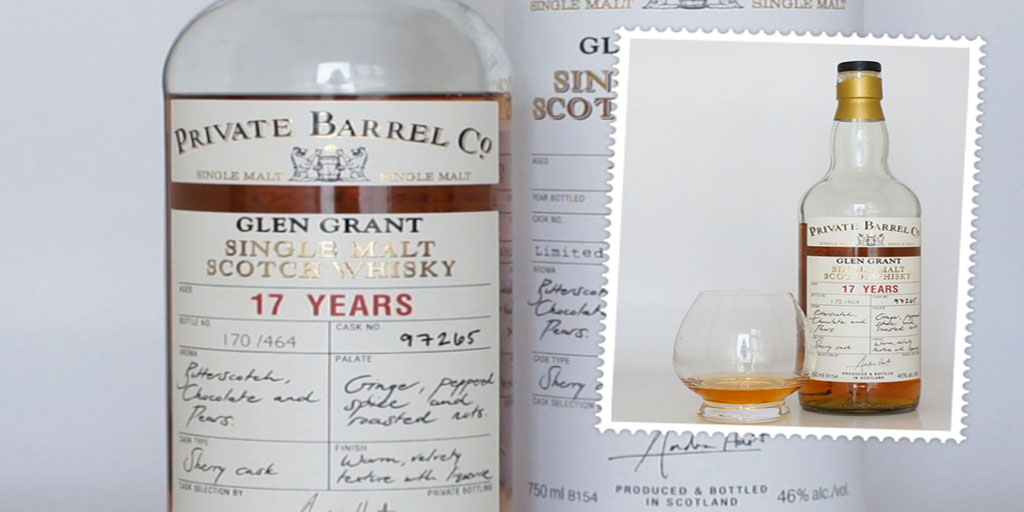 Glen Grant 17 yo Checkers Private Barrel co