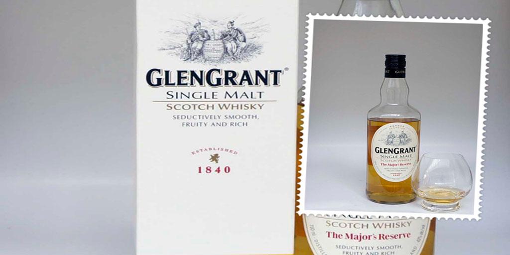 Glen Grant Major's Reserve single malt whisky
