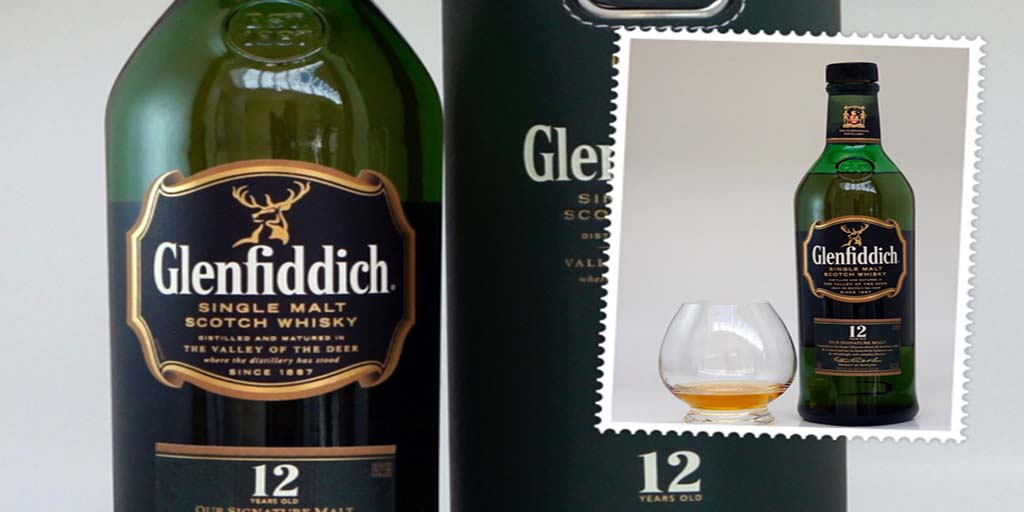 Glenfiddich 12 yo single malt whisky