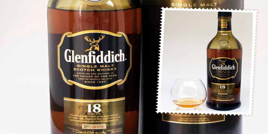Glenfiddich 18 yo single malt whisky