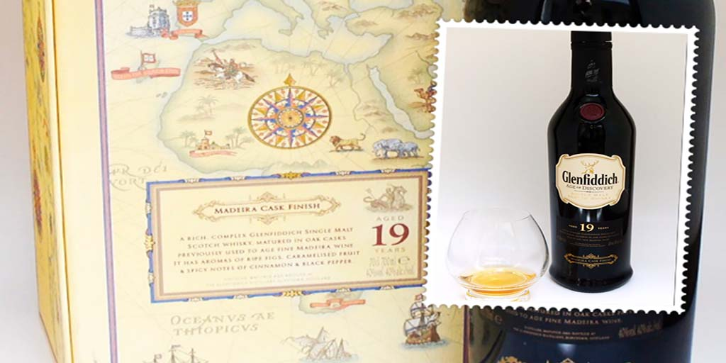 Glenfiddich 19 yo Madeira Cask Age of Discovery single malt whisky Glenfiddich Age of Discovery