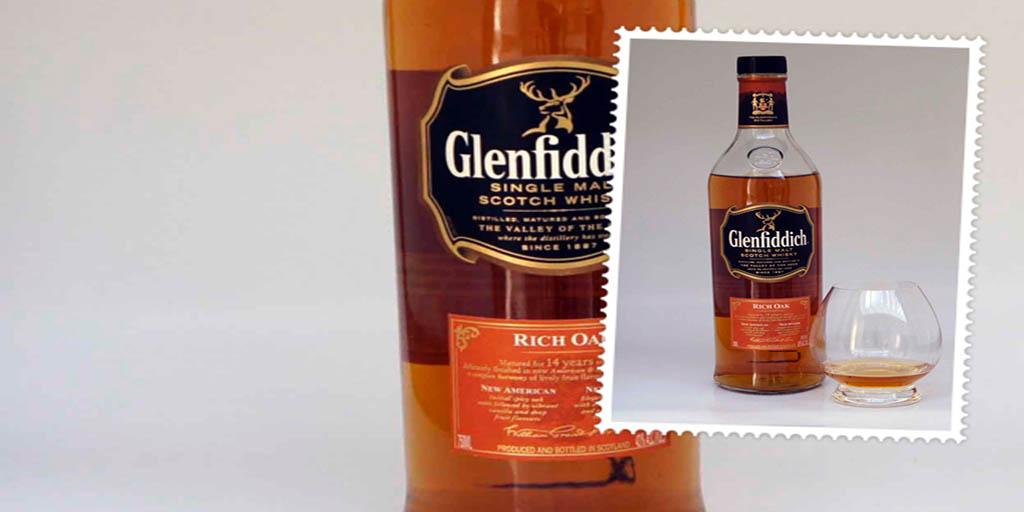 Glenfiddich Rich Oak single malt whisky