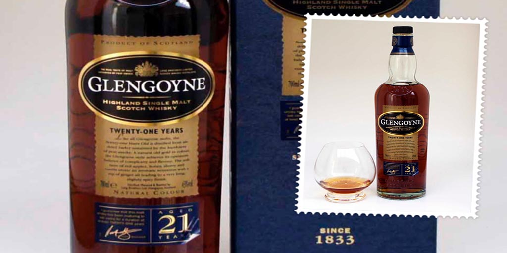 Glengoyne 21 yo single malt whisky