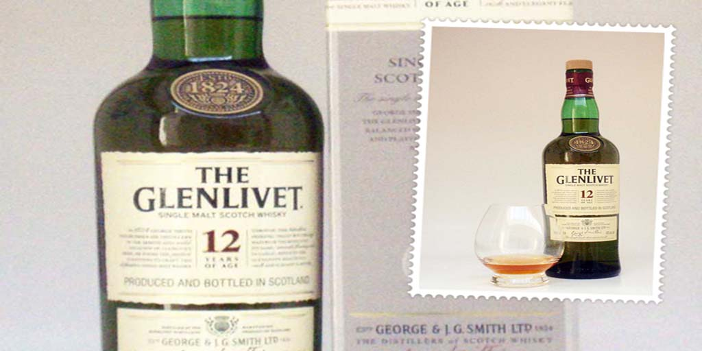 Glenlivet 12 yo single malt whisky
